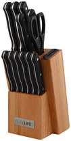 PureLife - 13-Piece Knife Set - Wood