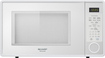 Sharp - 1.3 Cu. Ft. Mid-Size Microwave - White