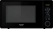 Sharp - 1.3 Cu. Ft. Mid-Size Microwave - Black