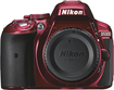 Nikon - D5300 Digital SLR Camera (Body Only) - Red