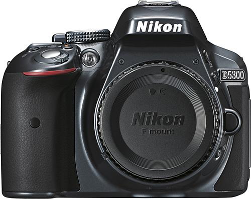 Nikon - D5300 Dslr Camera (Body Only) - Gray