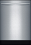 "Bosch - Ascenta 24""Tall Tub Built-In Dishwasher - Stainless-Steel"