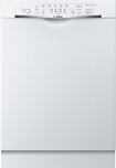 "Bosch - Evolution Ascenta 24"" Tall Tub Built-In Dishwasher - White"
