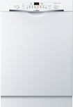 "Bosch - Ascenta 24"" Tall Tub Built-In Dishwasher - White"
