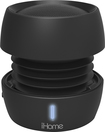 iHome - iBT72 Bluetooth Mini Speaker - Black