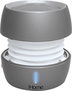 iHome - iBT73 Bluetooth Mini Speaker - Silver