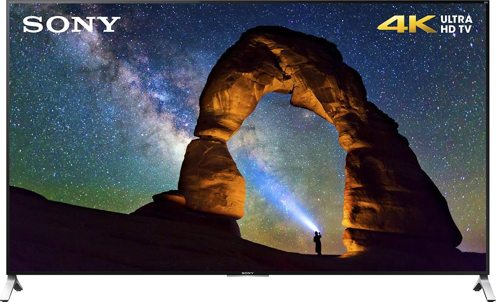 "Sony - 65"" Class (64.5"" Diag.) - LED - 2160p - Smart - 3D - 4K Ultra HD TV - Black"