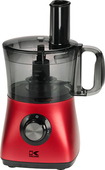 Kalorik - 4-Cup Food Processor - Red