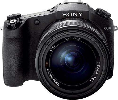 Sony - Cyber-shot DSC-RX10 20.2-Megapixel Digital Camera - Black