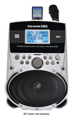 Karaoke USA - MP3 Portable Karaoke Player - Black