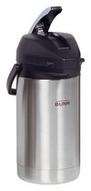 BUNN - 2-1/2L Commercial Airpot - Stainless-Steel