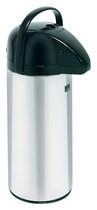 BUNN - 10-Cup Push Button Airpot Coffee/Tea Dispenser - Stainless-steel