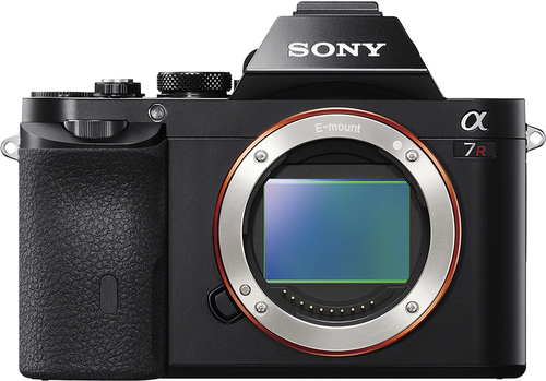 Sony - Alpha a7R Full-Frame Mirrorless Camera (Body Only) - Black