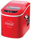 "Nostalgia Electrics - Coca-Cola Series 10"" 26-Lb. Freestanding Icemaker - Red"