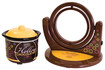 Nostalgia Electrics - Hollow Chocolate Candy Maker - Brown