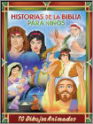 Historias De La Biblia Para Ninos: 10 Dibujos (DVD)