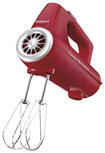 Cuisinart - PowerSelect 3-Speed Hand Mixer - Red