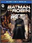 Batman vs. Robin (Blu-ray Disc) (2 Disc) (Deluxe Edition) 2015