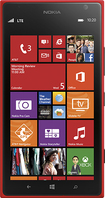 Nokia - Lumia 1520 4G Cell Phone - Red (AT&T)