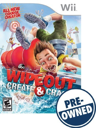 Wipeout: Create & Crash - PRE-Owned - Nintendo Wii
