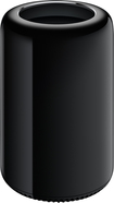 Apple® - Mac Pro - Quad-Core Intel® Xeon® Processor - 12GB Memory - 256GB Flash Storage - Black