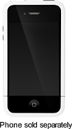 Incase - Pro Slider Case for Apple® iPhone® 4 - White/Black