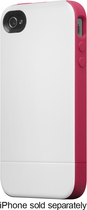 Incase - Pro Slider Case for Apple® iPhone® 4 and 4S - White/Raspberry