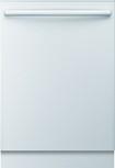 "Bosch - Integra Ascenta 24"" Tall Tub Built-In Dishwasher - White"