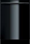 "Bosch - Integra Ascenta 24"" Tall Tub Built-In Dishwasher - Black"