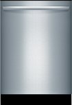 """Bosch - Integra Ascenta 24"""" Tall Tub Built-In Dishwasher - Stainless-Steel"""