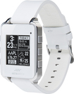 MetaWatch - FRAME Watch for Apple® iPhone® 4S and 5 and Select Android Mobile Phones - White