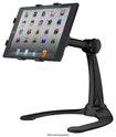 IK Multimedia - iKlip Stand for Apple® iPad® mini - Black/Silver