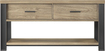 "Whalen Furniture - Rustic TV Console for Most Flat-Panel TVs Up to 65"" - Ash"