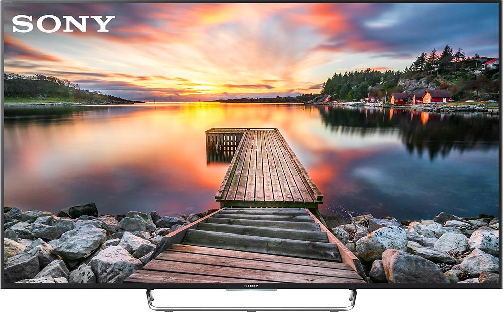 "Sony - 75"" Class (74.5"" Diag.) - LED - 1080p - Smart - 3D - HDTV - Black"