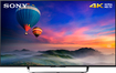 "Sony - 43"" Class (42.5"" Diag.) - LED - 2160p - Smart - 4K Ultra HD TV - Black"