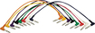 Hot Wires - Right-Angle Patch Cables (8-Pack) - Multicolor