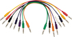 Hot Wires - TRS-to-TRS Straight Patch Cables (8-Pack) - Multi