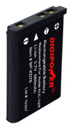 Digipower - Rechargeable Lithium-ion Battery For Select Kodak Digital Cameras