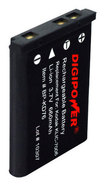 DigiPower - Rechargeable Lithium-Ion Battery for Select Kodak Digital Cameras - Black
