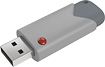 EMTEC - B100 Click 8GB USB 2.0 Flash Drive - Gray