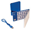 iwerkz - Keyboard Docking Station for Apple® iPad® and iPhone® - Blue