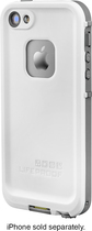 LifeProof - frē Case for Apple® iPhone® 5 and 5s - White