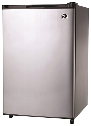 Igloo - 4.6 Cu. Ft. Compact Refrigerator - Stainless