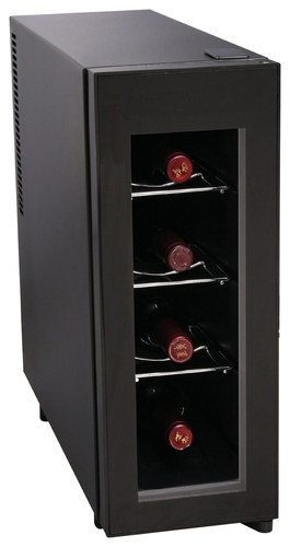 Igloo - 4-Bottle Vertical Wine Cooler - Black