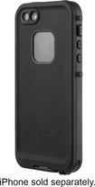 LifeProof - frē Case for Apple® iPhone® 5 and 5s - Black