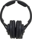 KRK - 6400 Series Professional Monitoring Headphones - Black