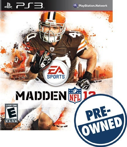 Madden NFL 12 - PRE-Owned - PlayStation 3