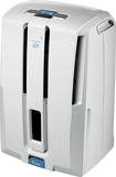 DeLonghi - 50-Pint Pump System Dehumidifier - White