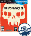 Resistance 3 — PRE-OWNED - PlayStation 3