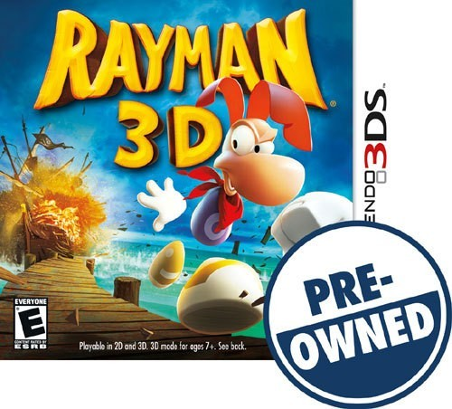 Rayman 3D - PRE-Owned - Nintendo 3DS